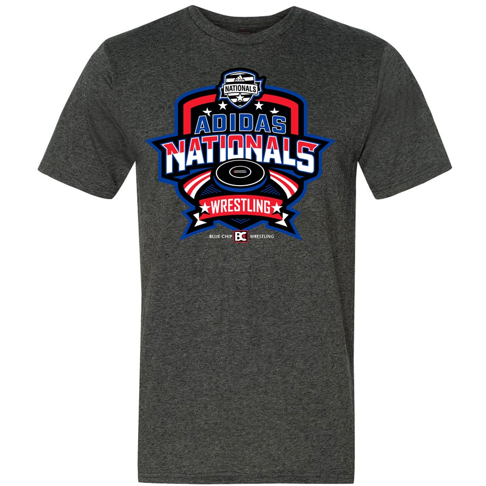 2021 Adidas Nationals Event Tee (Grey)