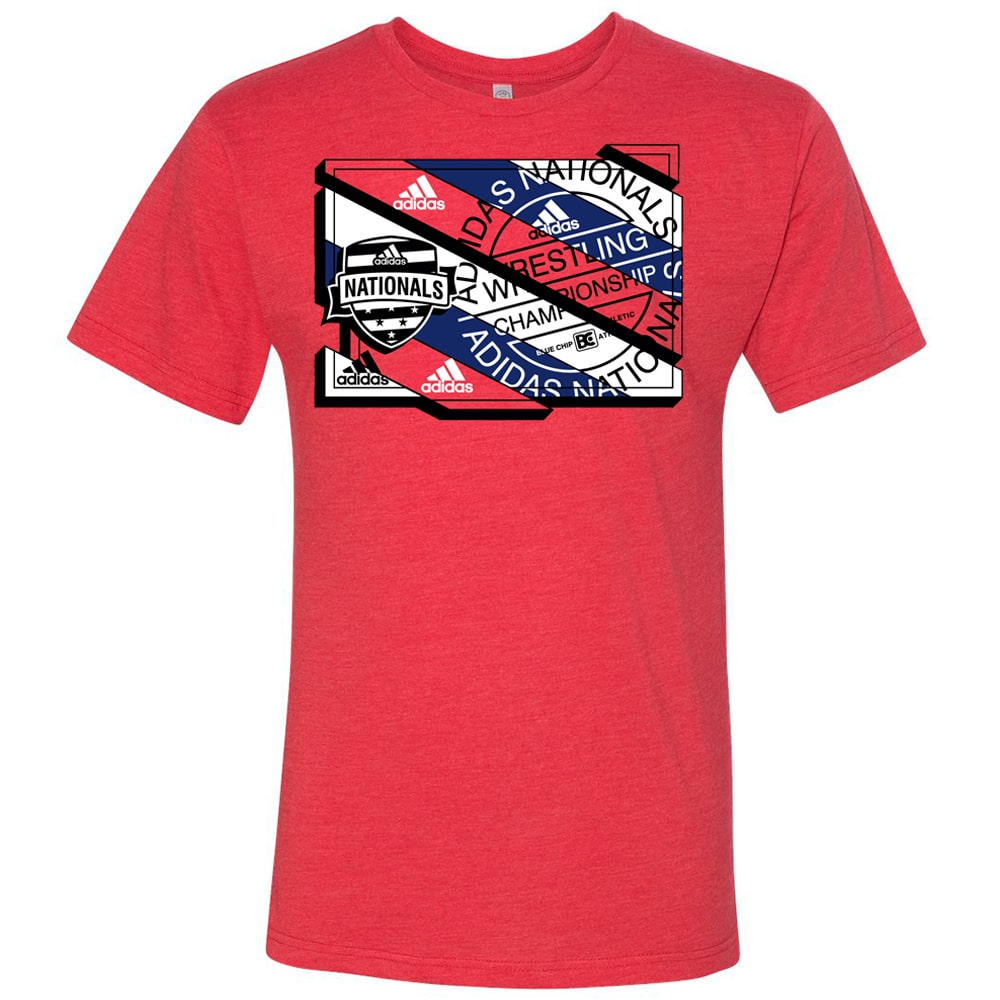 2021 Adidas Nationals Event Tee (Red)