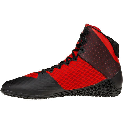 Mat Wizard 4 Wrestling Shoes (Red / Black)