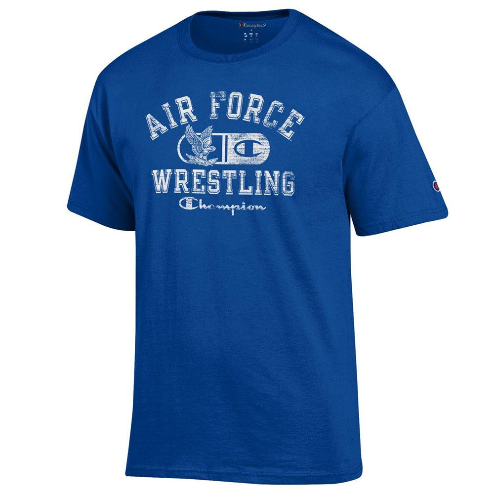 Air Force Falcons Champion Wrestling T-Shirt