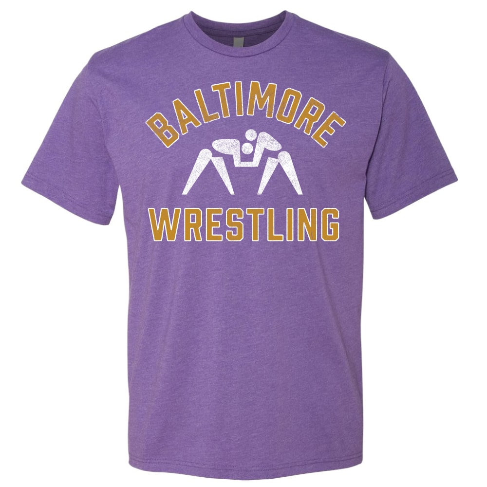 Baltimore Wrestling City Pride T-Shirt