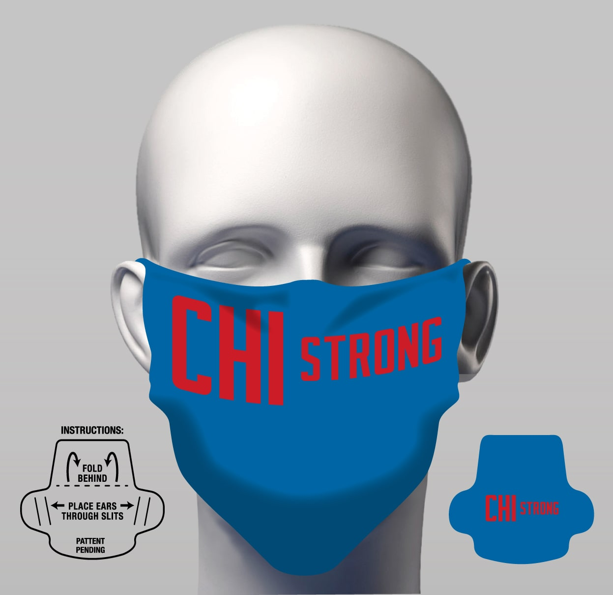 Face Cover - CHI Strong