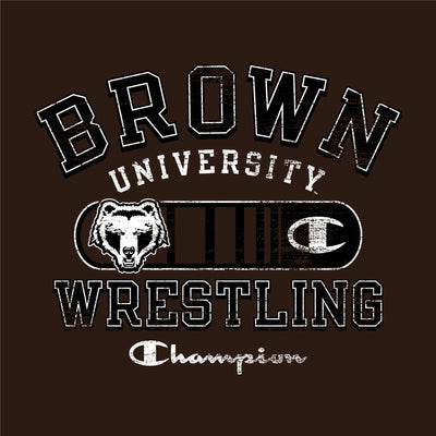 Brown University Bears Champion Wrestling T-Shirt