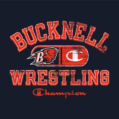 Bucknell Bisons Champion Wrestling T-Shirt