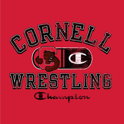 Cornell Big Red Champion Wrestling T-Shirt