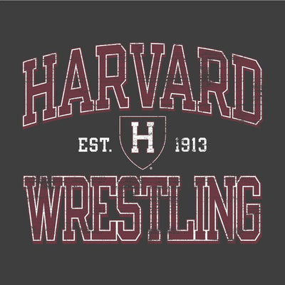 Harvard Crimson Champion Wrestling T-Shirt