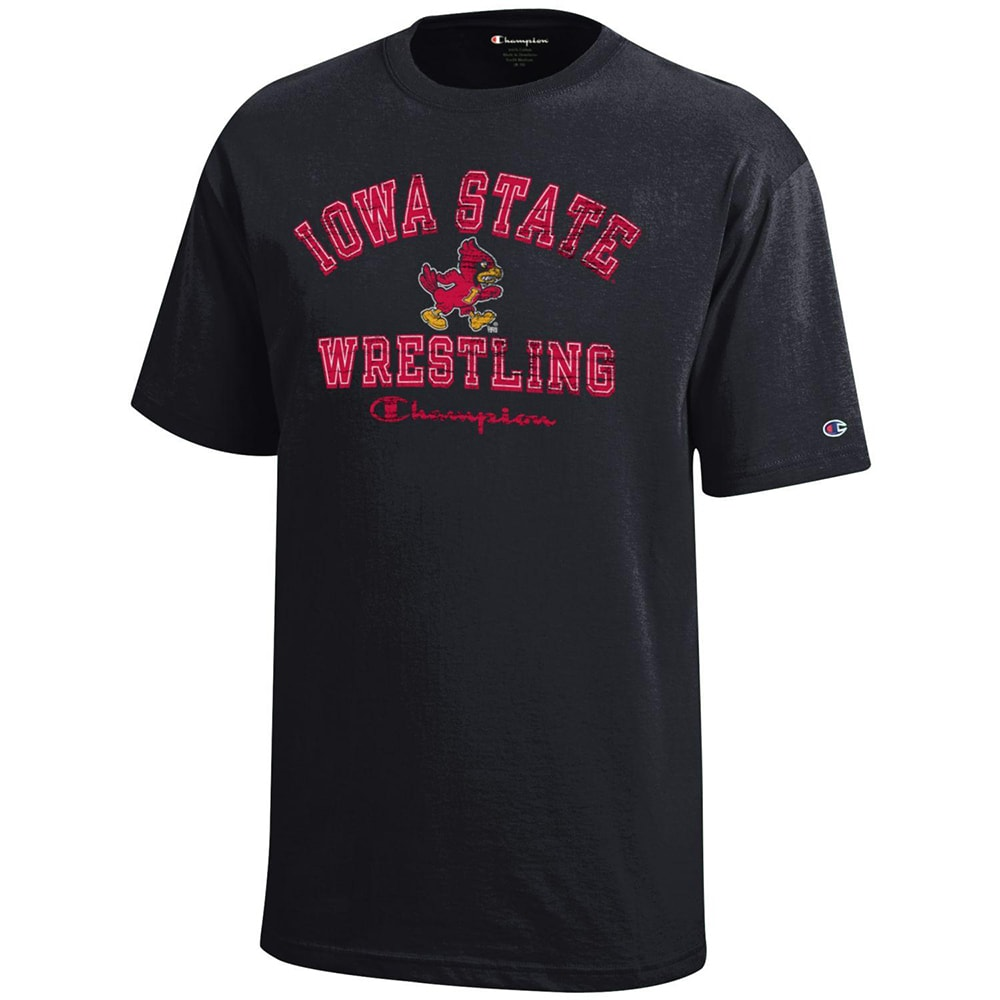 Iowa State Cyclones Champion Wrestling T-Shirt