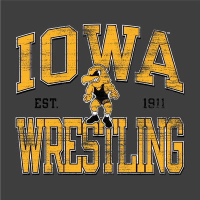 Iowa Hawkeyes Champion Wrestling T-Shirt
