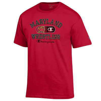 Maryland Terrapins Champion Wrestling T-Shirt