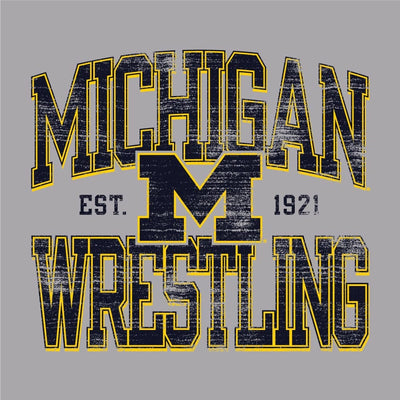 Michigan Wolverines Champion Wrestling T-Shirt