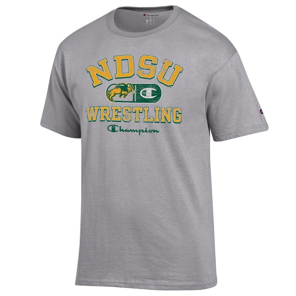 North Dakota State Thundering Herd Champion Wrestling T-Shirt