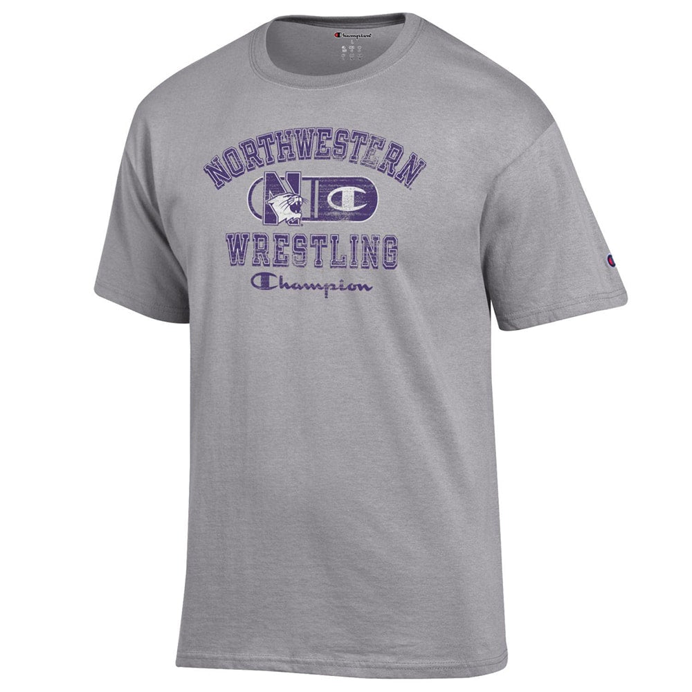 Northwestern Wildcats Champion Wrestling T-Shirt