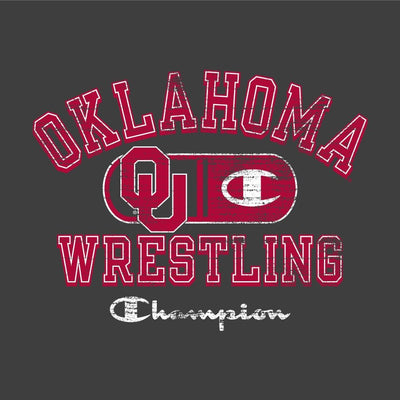 Oklahoma Sooners Champion Wrestling T-Shirt
