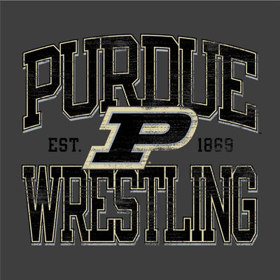 Purdue Boilermakers Champion Wrestling T-Shirt