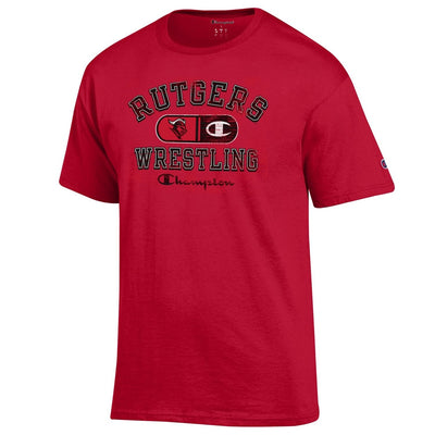 Rutgers Scarlet Knights Champion Wrestling T-Shirt