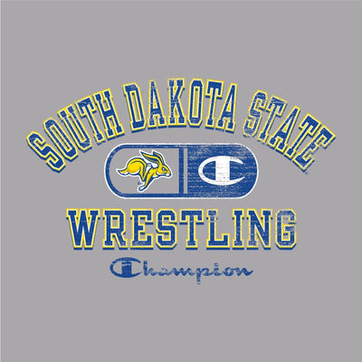 South Dakota State Jackrabbits Champion Wrestling T-Shirt