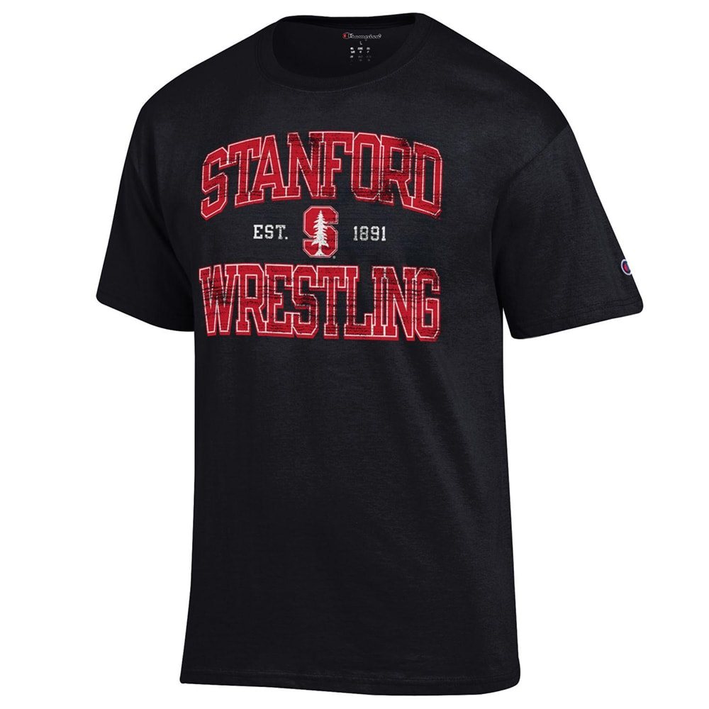 Stanford Cardinals Champion Wrestling T-Shirt