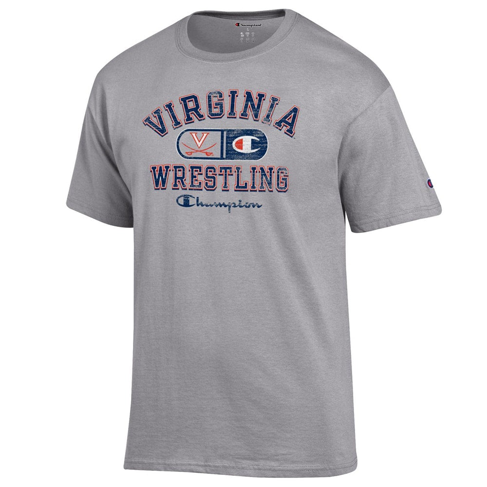 Virginia Cavaliers Champion Wrestling T-Shirt