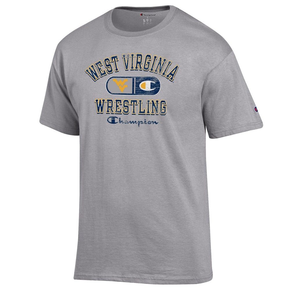 West Virginia Mountaineers Champion Wrestling T-Shirt
