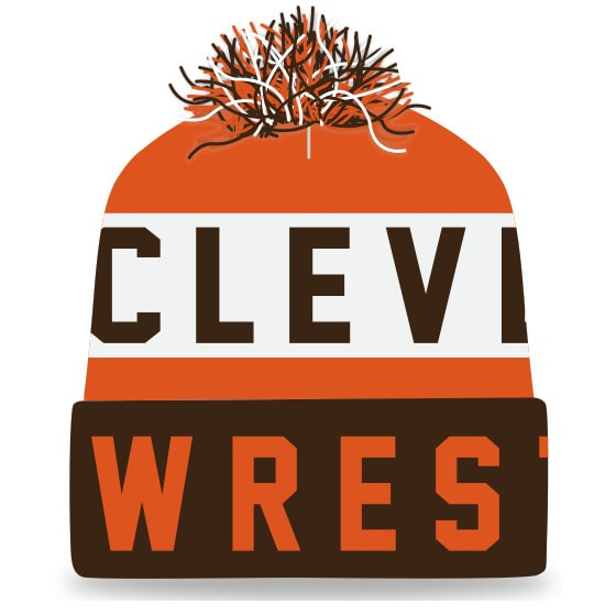 Cleveland Wrestling Knit In Beanie