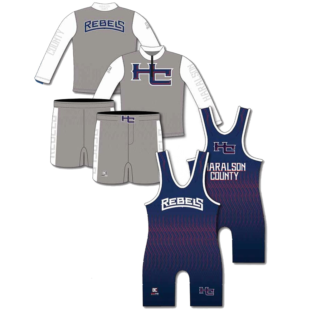 Competition Pack #9 (Singlet + Wrestling Shorts + Quarter Zip)
