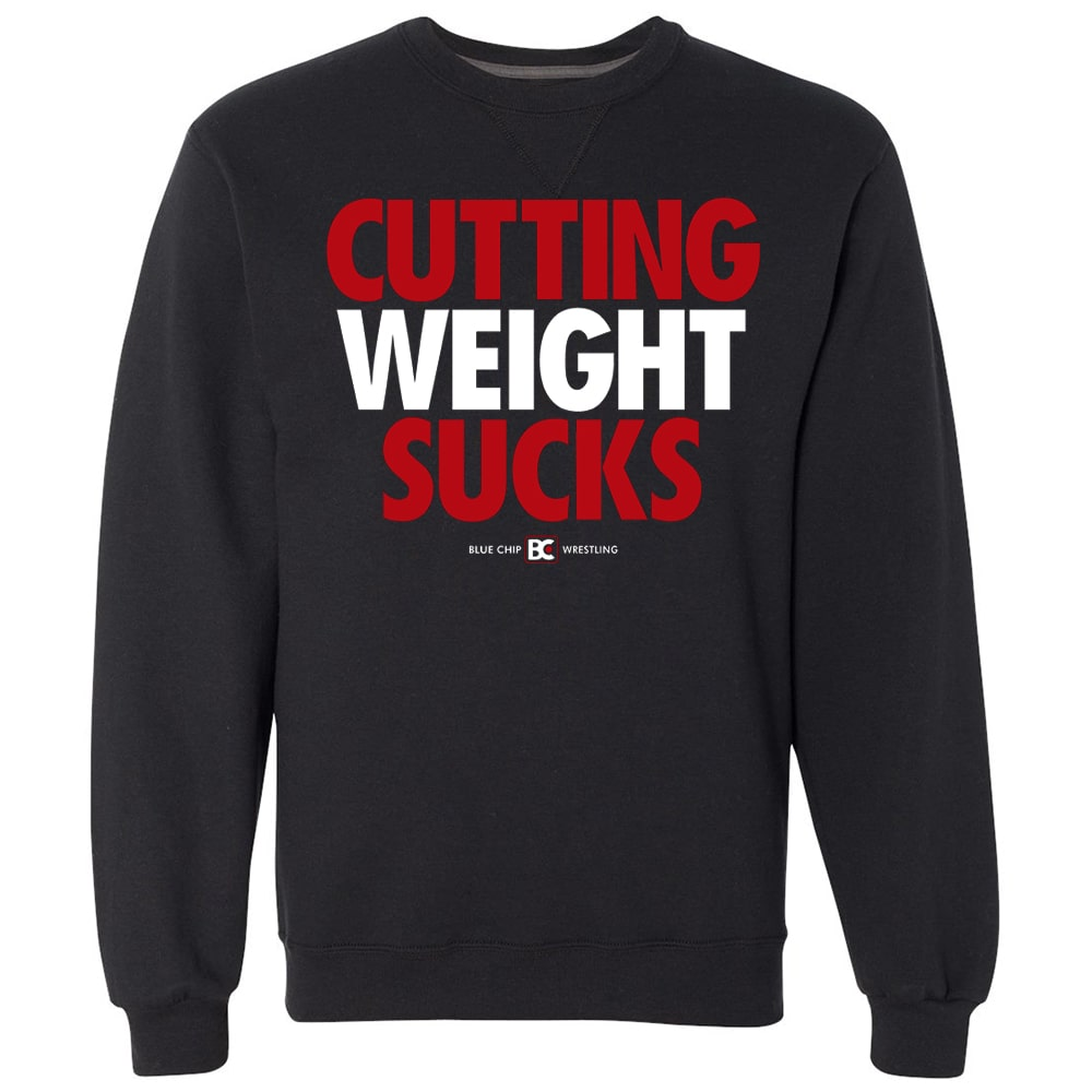 Cutting Weight Sucks Crewneck Sweatshirt