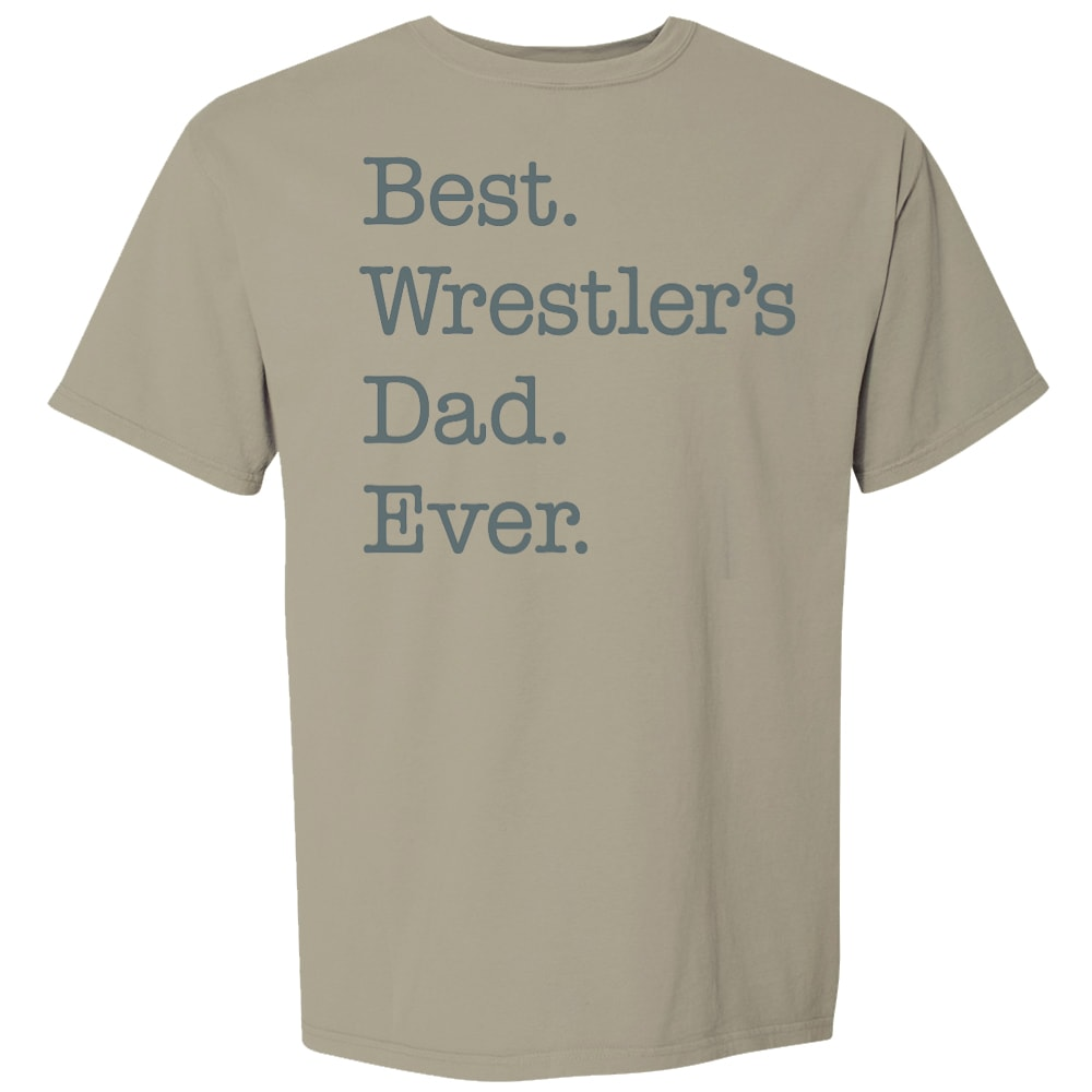 Best Wrestler's Dad Ever Wrestling T-Shirt