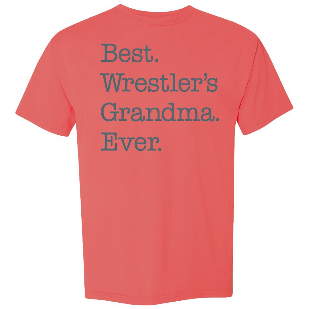 Best Wrestler's Grandma Ever Wrestling T-Shirt