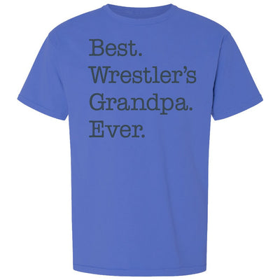 Best Wrestler's Grandpa Ever Wrestling T-Shirt