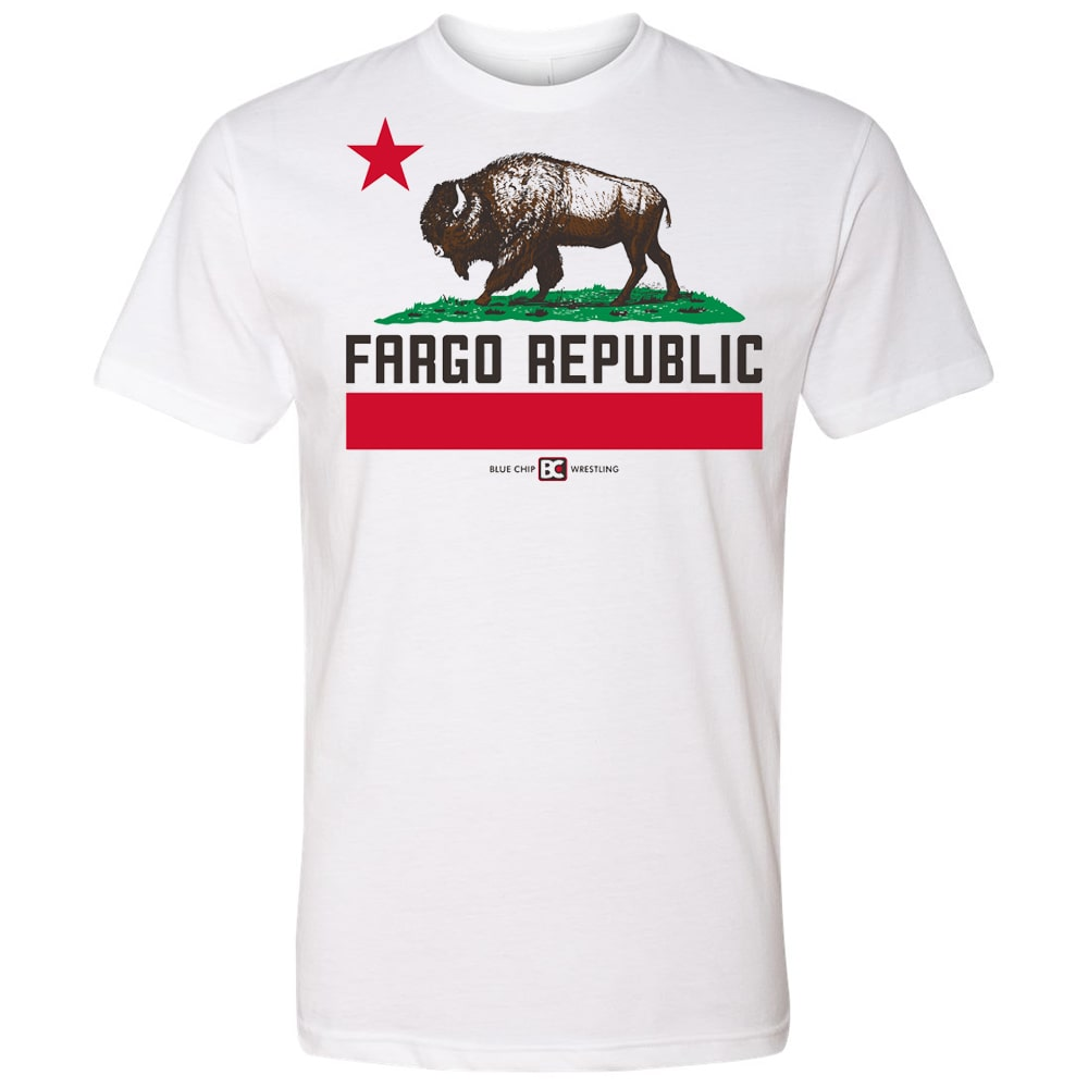 Fargo Republic Blue Chip Wrestling T-Shirt