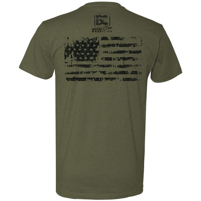 Illinois USA Freestyle Greco Tee (Army Green)