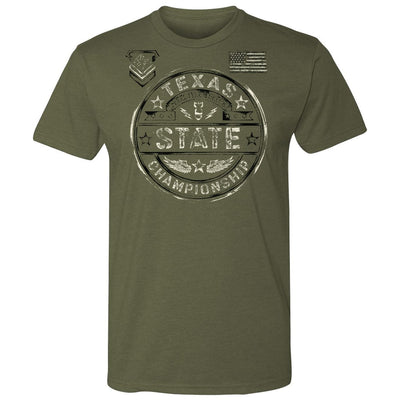 Texas USA Freestyle Greco Tee (Army Green)