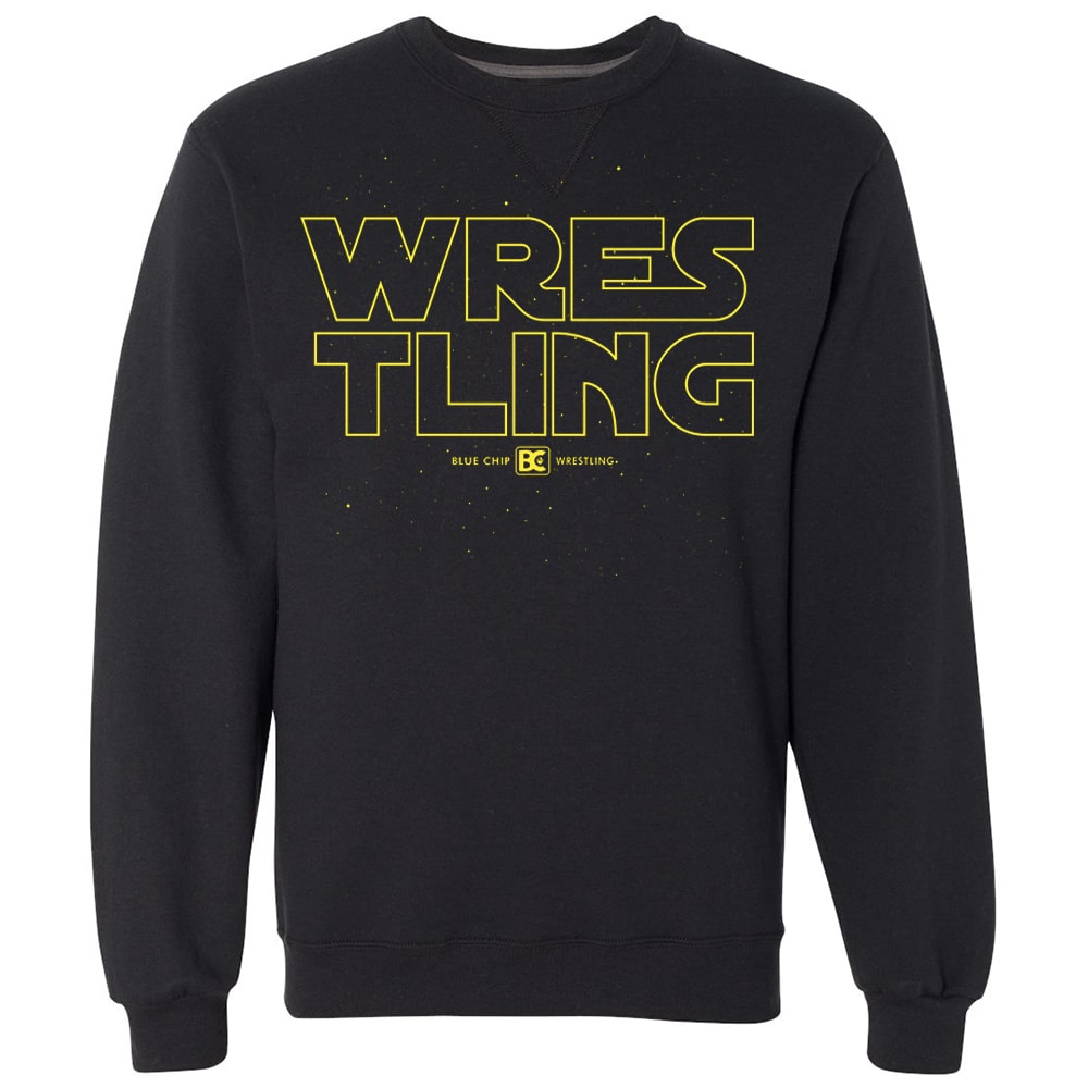 Galaxy Wrestling Crewneck Sweatshirt