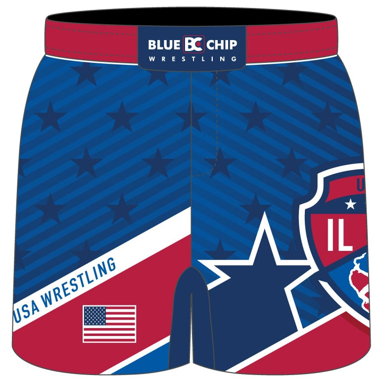 2019 Illinois USA Wrestling Fight Shorts