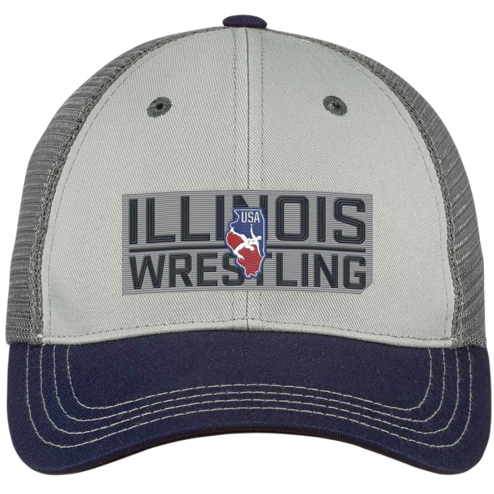 2020 Illinois USA Wrestling Trucker Hat