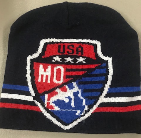 Missouri USA Wrestling Knit Beanie 2019