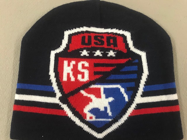 Kansas USA Wrestling Knit Beanie 2019