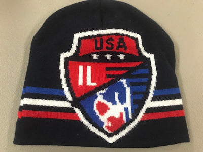 Illinois USA Wrestling Knit Beanie 2019