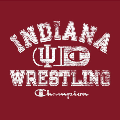 Indiana Hoosiers Champion Wrestling T-Shirt
