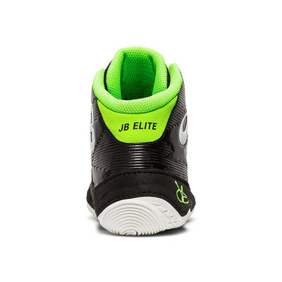 Asics JB Elite IV Wrestling Shoes (Black / White)