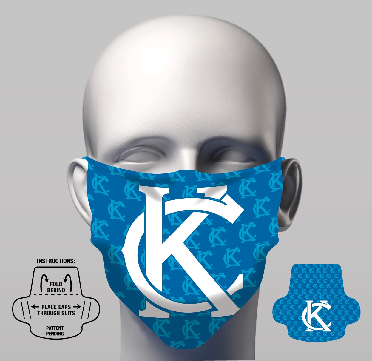 Face Cover - KC Royal