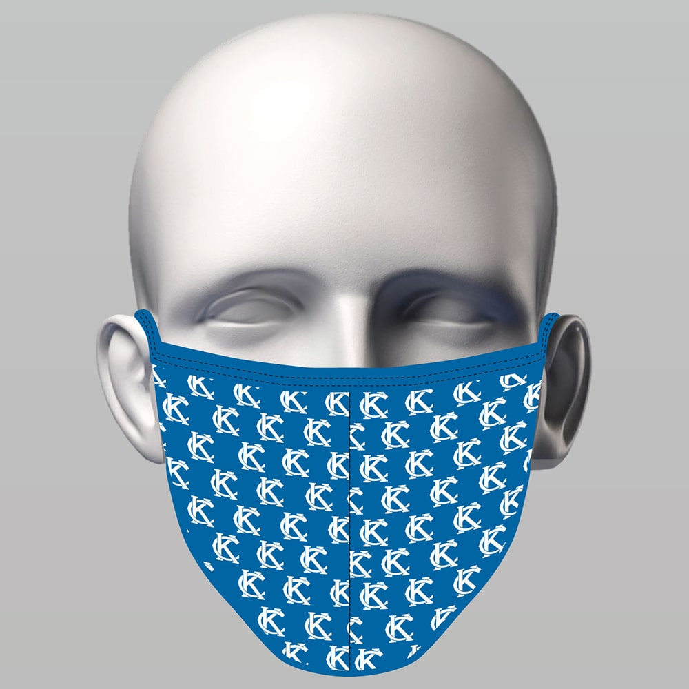 Sewn  Face Mask - KC Royal