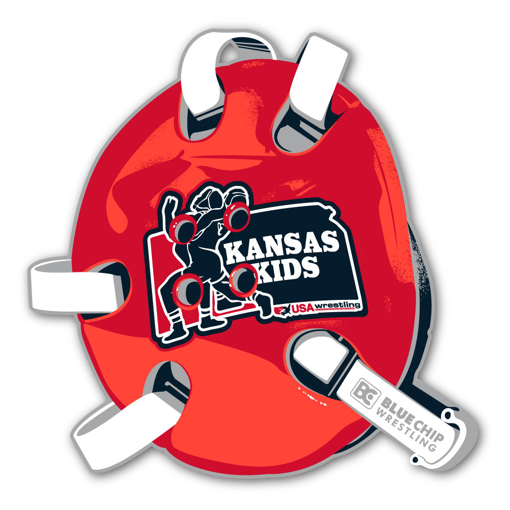 2020 Kansas USA Wrestling State Championship Sticker
