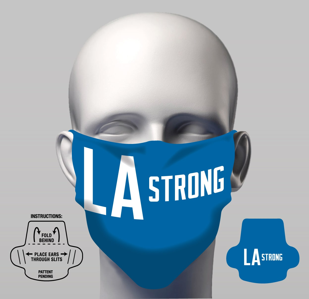 Face Cover - LA Strong