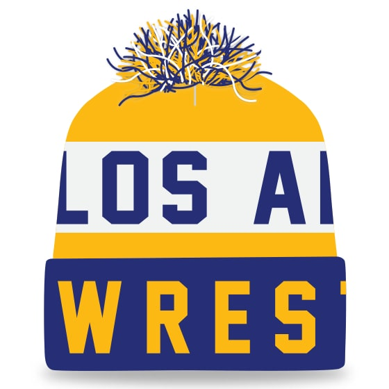 Los Angeles Wrestling Knit In Beanie
