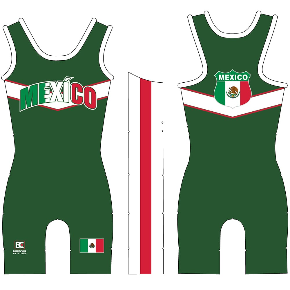 Made 4 U Women's Mexico National Singlet
