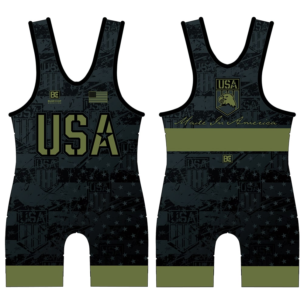 Made in America 5.0 Black Ops Wrestling Singlet