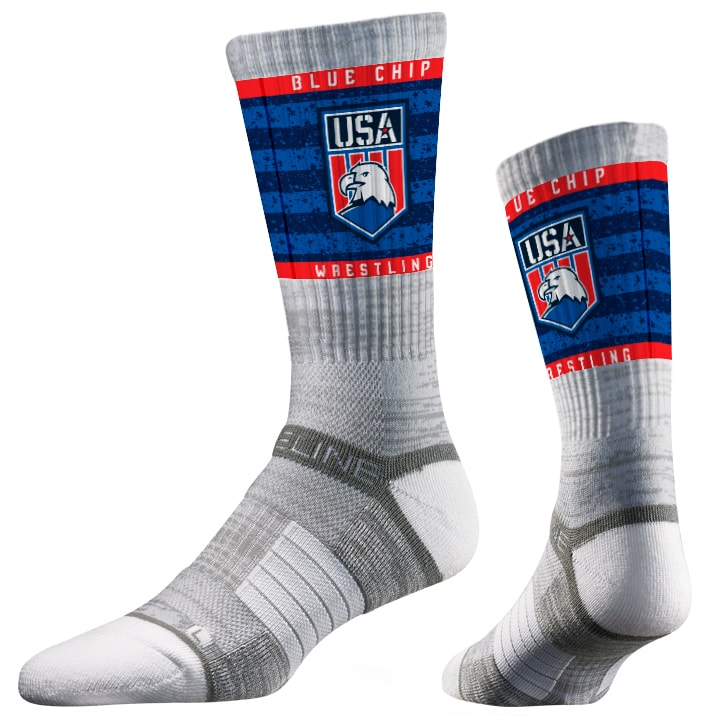 MIA 5.0 Wrestling Sublimated Performance Socks