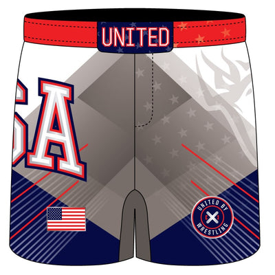Blue Chip United Fight Shorts