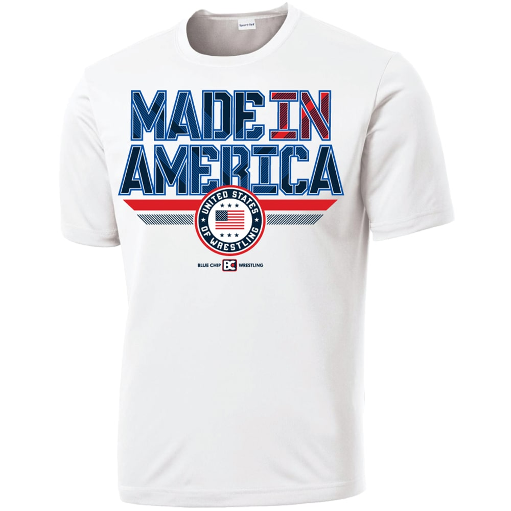 Made In America 2.0 Wrestling Conquest T-Shirt